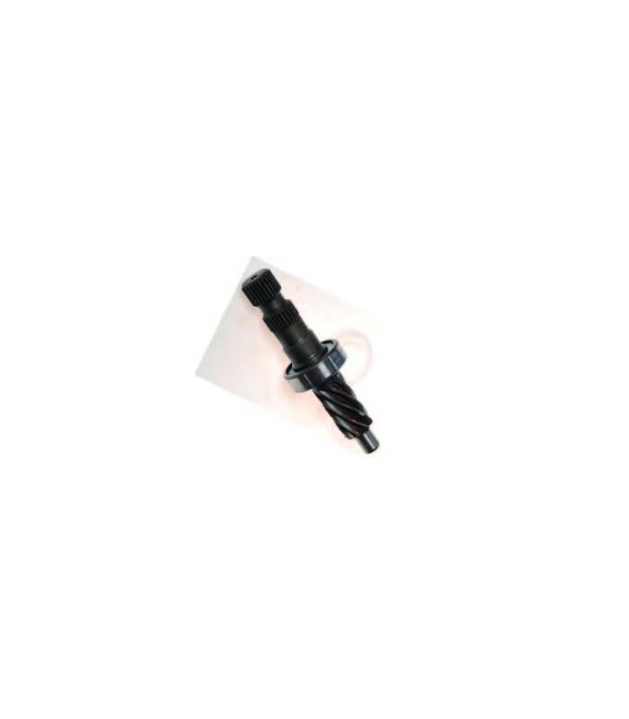 Pignon de direction 8 dents avec écrou joint et bague