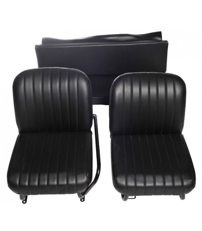 Lot de 2 garnitures de sièges AV + banquette ARR