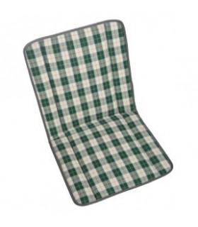 Garniture siège et banquette bayadère écossais