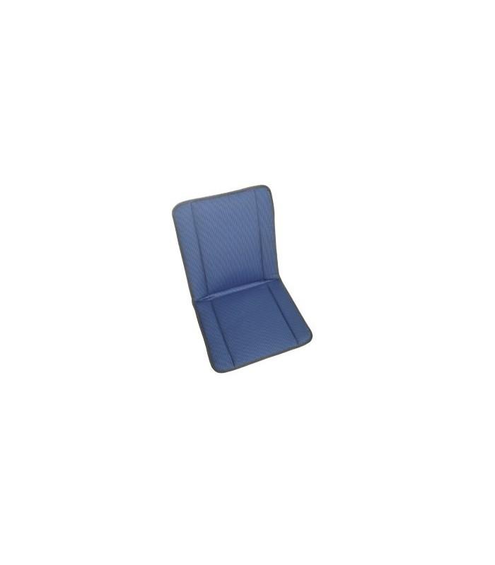 Garniture siège et banquette bayadère bleu