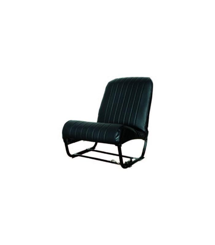 Ensemble de garnitures skaï Noir perforé 2 sièges symétriques + 1 banquette ARR