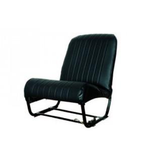 Ensemble de garnitures skaï Noir perforé 2 sièges asymétriques + 1 banquette ARR