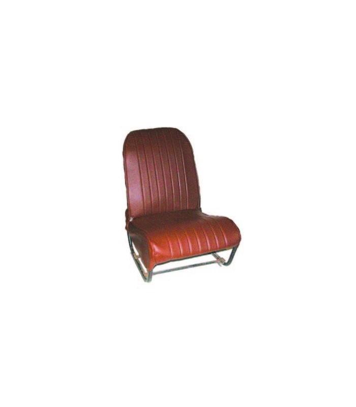 Ensemble de garnitures skaï Marron perforé 2 sièges symétriques + 1 banquette ARR