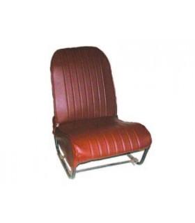 Ensemble de garnitures skaï Marron perforé 2 sièges asymétriques + 1 banquette ARR