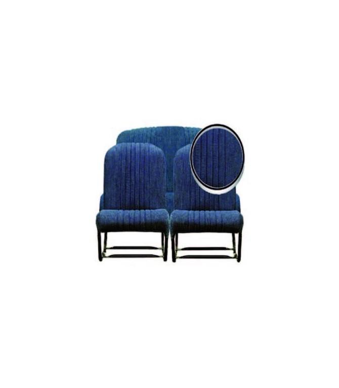 Ensemble de garnitures tissu Jean 2 sièges symétriques + 1 banquette ARR
