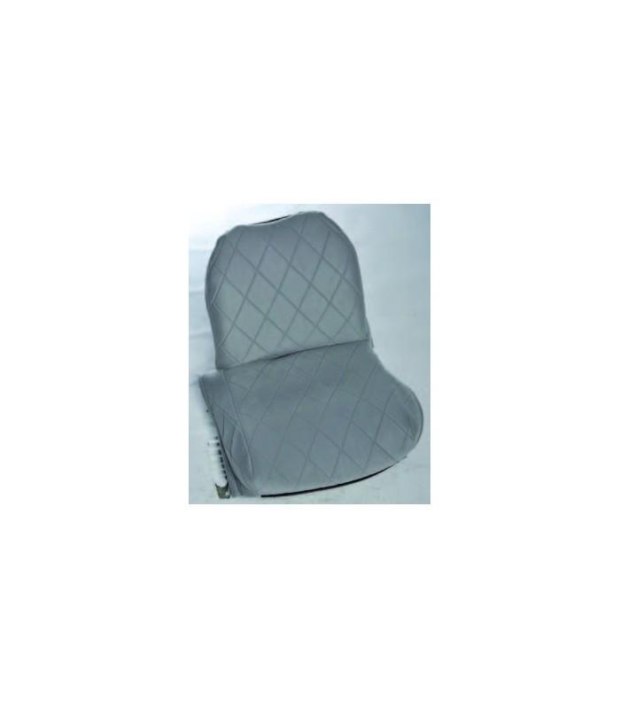 Ensemble de garniture tissu charleston 2 sièges asymetriques + banquette ARR