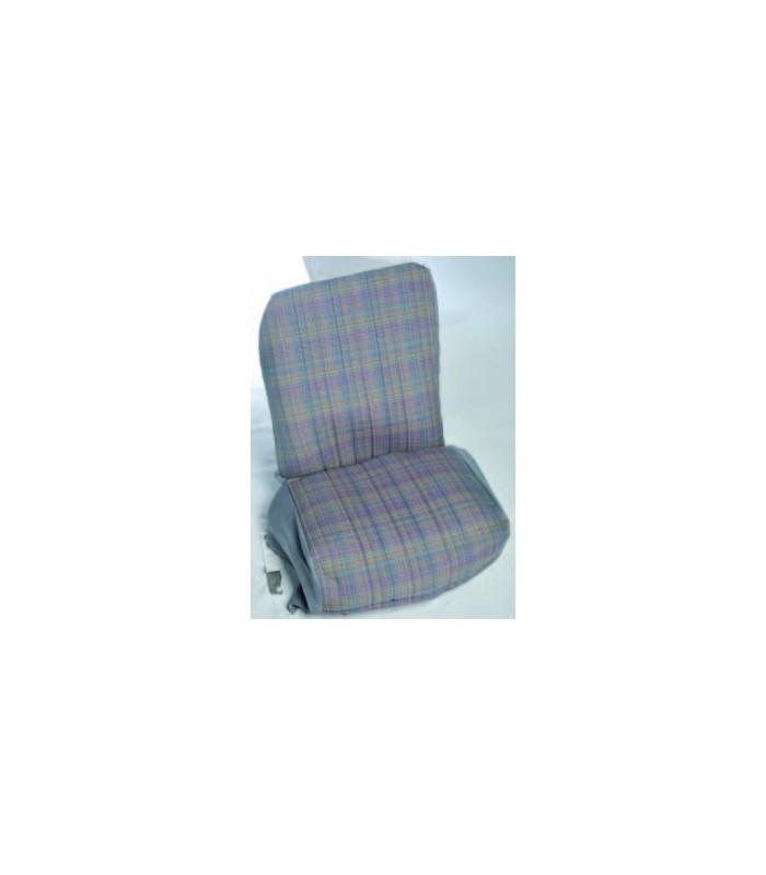 Ensemble de garniture tissu écossais 2 sièges symétrique + banquette ARR