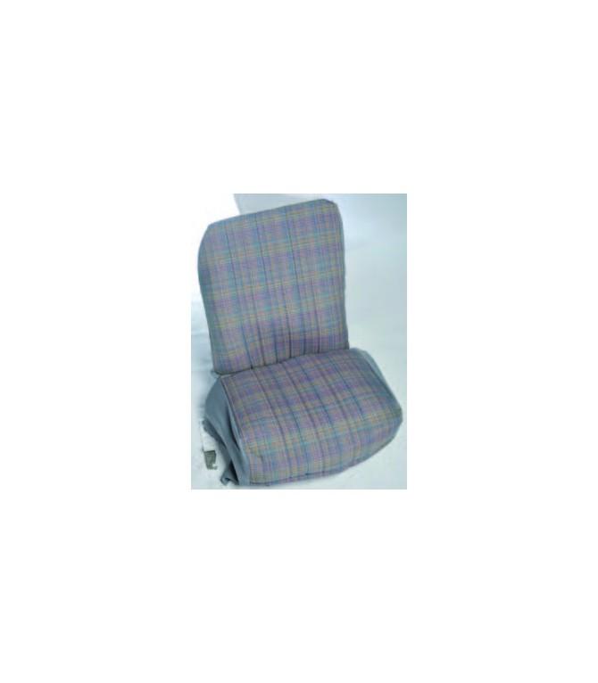 Ensemble de garniture tissu écossais 2 sièges asymétriques + banquette ARR