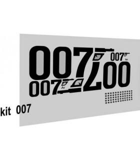 AUTOCOLLANTS 2CV 007
