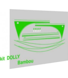 Autocollants Dolly Bambou
