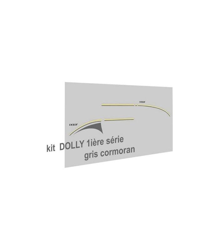 Autocollants Dolly 1ère série Cormoran