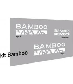 AUTOCOLLANTS 2CV BAMBOO