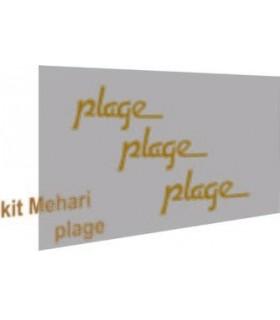 AUTOCOLLANTS MEHARI PLAGE