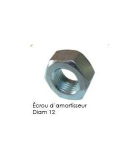 ECROU D'AMORTISSEUR DIAM 12 2CV MEHARI ET DERIVES