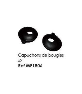 CAPUCHON DE BOUGIE LA PAIRE POUR MEHARI 2CV ET DERIVES
