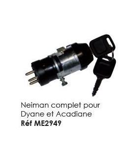 Contacteur Neiman complet pour Dyane et Acadiane