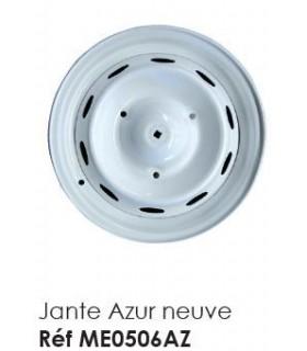 JANTE AZUR NEUVE POUR 2CV OU MEHARI