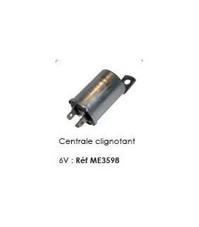 CENTRALE CLIGNOTANT 6V NOUVEAU MODELE DE 1950 A 1970