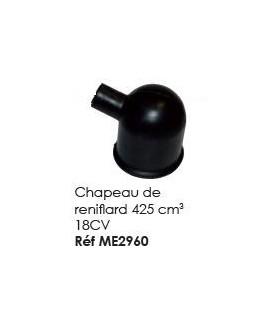 Chapeau de reniflard pour moteur 2CV de 425 cm3