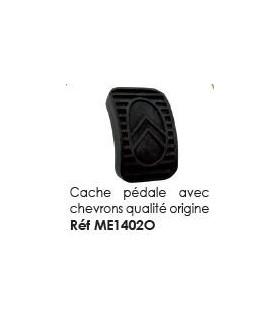 CACHE PEDALE CAOUTCHOUC QUALITE ORIGINE POUR 2CV MEHARI ET DERIVES