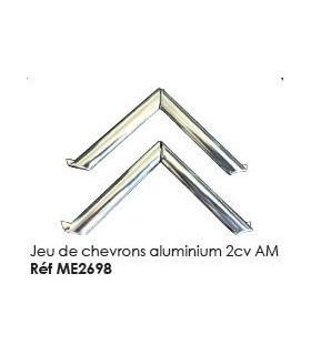 Jeu de chevrons aluminium 2cv AM