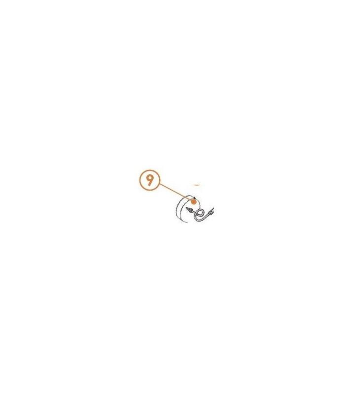 Tuyau de frein Diam 9 de cylindre de roue avant droit ou gauche