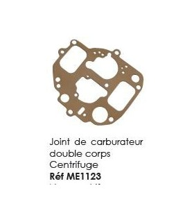 Joint de carburateur double corps