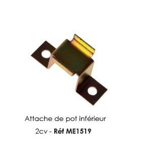 Attache de pot inferieur 2CV
