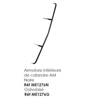 ARMATURE INFERIEURE DE CALANDRE ANCIEN MODELE GALVANISE POUR MEHARI