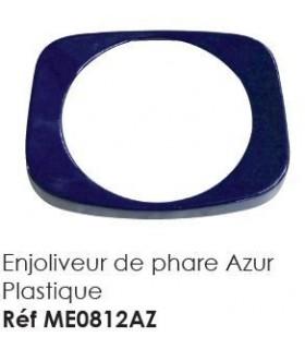ENJOLIVEUR DE PHARE NOUVEAU MODELE PLASTIQUE AZUR POUR PHARE DE MEHARI OU DYANE ACADIANE