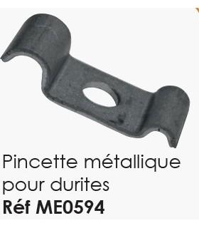 PINCETTE METALLIQUE POUR DURITE POUR PLATEFORME CHASSIS 2CV OU MEHARI