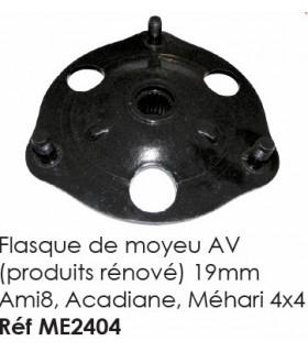 FLASQUE DU MOYEU AVANT AMI8 ACADYANE MEHARI 4X4 PRODUIT RENOVE