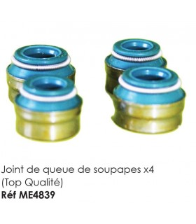JOINTS DE QUEUE DE SOUPAPES (X4) QUALITE SUPERIEURE POUR 2CV MEHARI OU DERIVES