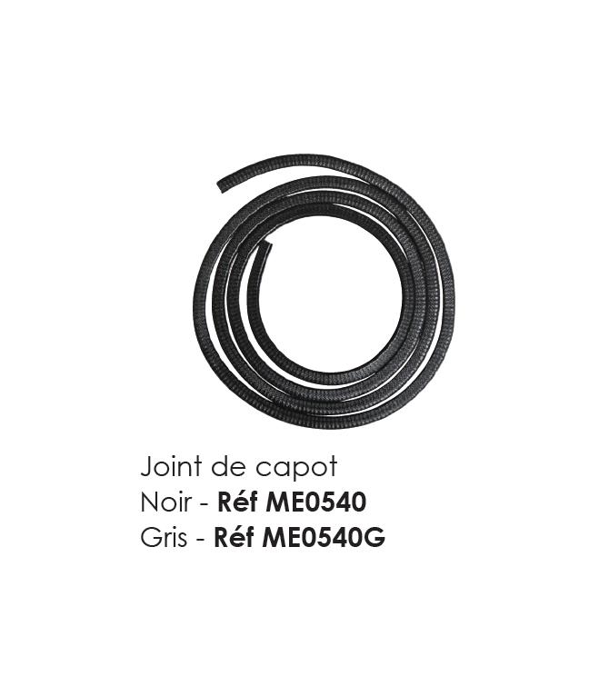 JOINT DE CAPOT GRIS POUR MEHARI