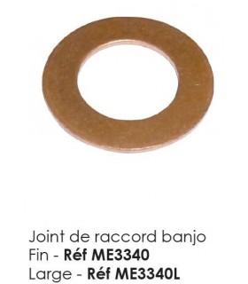 JOINT RACCORD BANJO LARGE POUR 2CV ANCIEN MODELE
