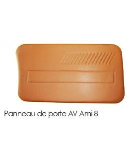 PANNEAU DE PORTE AVANT GAUCHE NOIR AMI 8
