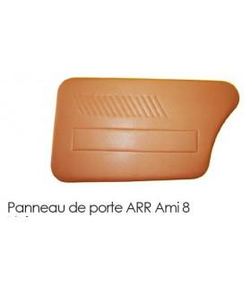 PANNEAU DE PORTE ARRIERE GAUCHE NOIR AMI 8