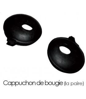 CAPUCHONS DE BOUGIE (LA PAIRE) HNBR QUALITE SUPERIEURE POUR 2CV MEHARI OU DERIVES