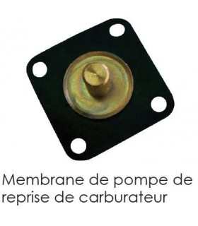 MEMBRANE DE POMPE DE REPRISE DE CARBU DOUBLE CORPS 26 35 SCIC