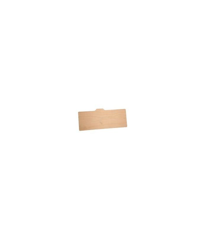 Planche de dossier de siège ARR (bois vernis)