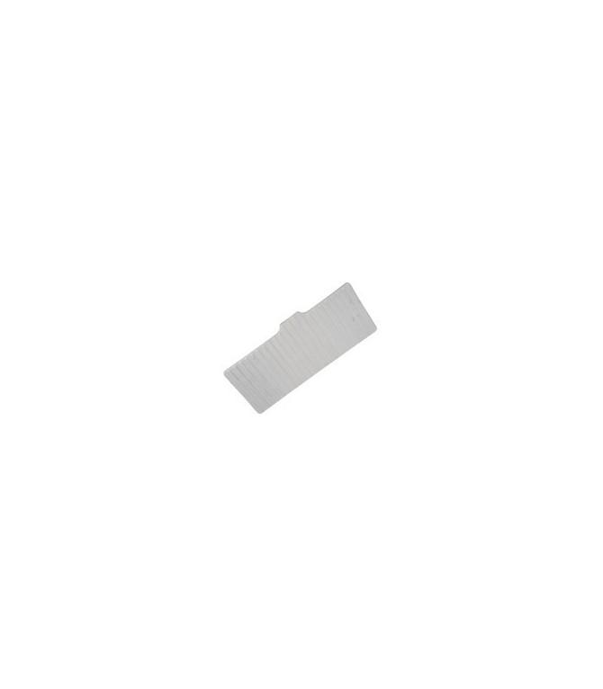 Habillage plastique de la planche du dossier de banquette ARR