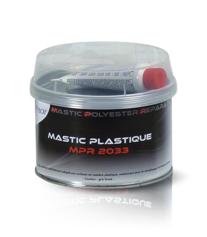 Mastic carrosserie plastique