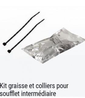 KIT GRAISSE ET COLLIERS POUR SOUFFLET DE CARDAN INTERMEDIAIRE