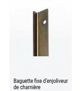 BAGUETTE FIXE DE FIXATION D ENJOLIVEUR DE CHARNIERE 2CV