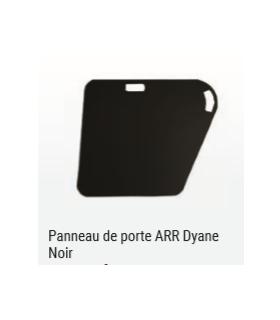 PANNEAU DE PORTE ARRIERE GAUCHE NOIR POUR DYANE