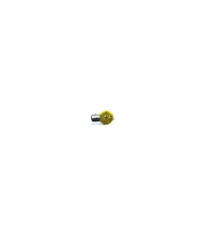 Ampoule Code/Phare à baïonnette Jaune 6 V 45-40 W