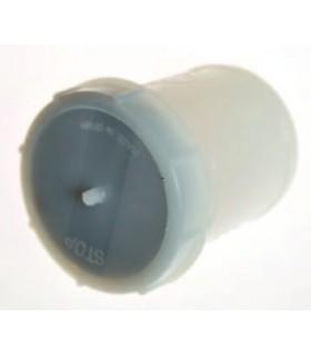 Bocal de lookeed avec bouchon en plastique