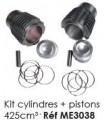 KIT CYLINDRES ET PISTONS 425 CM3 POUR 2CV 425CC